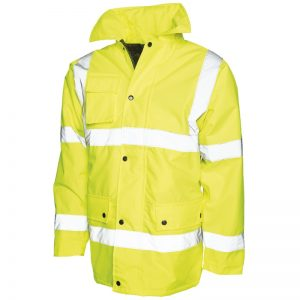 Veste de sécurité jaune