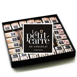 Chocolat personnalisé français, Le petit carré de chocolat