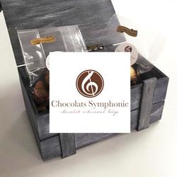 Chocolat personnalisé belge, Chocolat-Symphonie